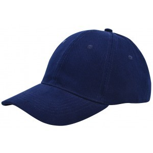 Brushed twill cap navy