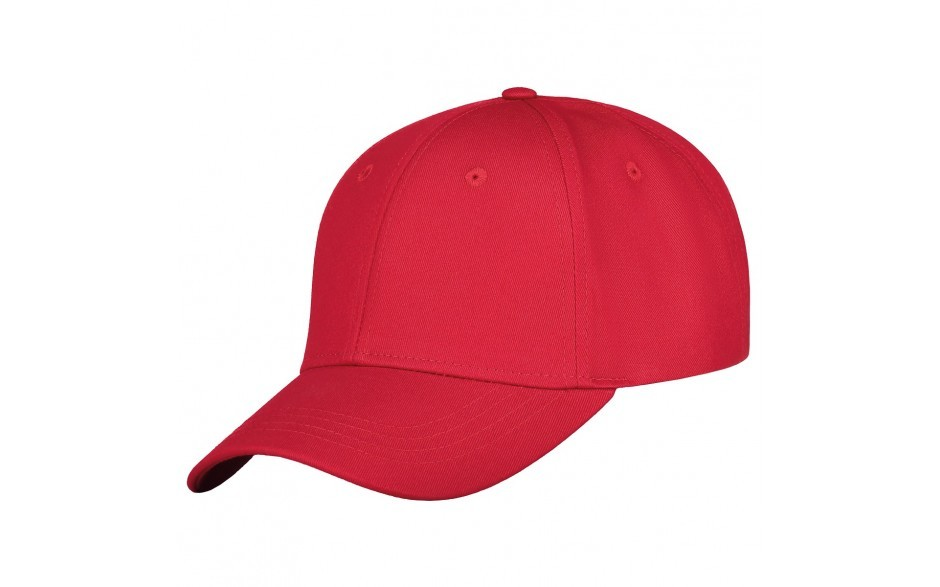 Luxe medium profile cap rood