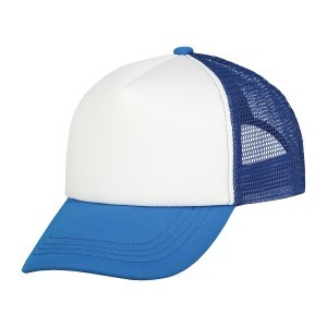 Kinder trucker cap royal blue