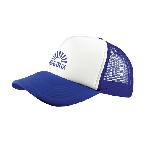 Trucker cap royal blue